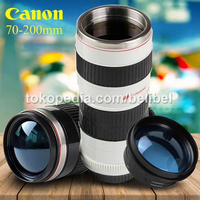 ORIGINAL!!! Canon Tele 70-200mm L Cup / Gelas Lensa Kamera Tutup Fish Eye Unik - UERD0x