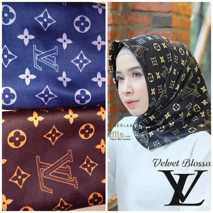 Hijab Kerudung Segi Empat NUSANTARA Scarf MEZORA Original / hijab instan / hijab segi empat /