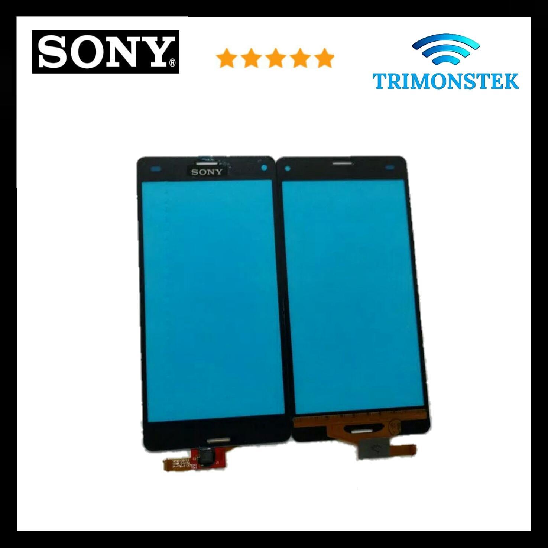 Suku Cadang Handphone Sony Ts Monitor Touchscreen Led Putih Layar Sentuh Z3 Mini Compact D5803 D5833