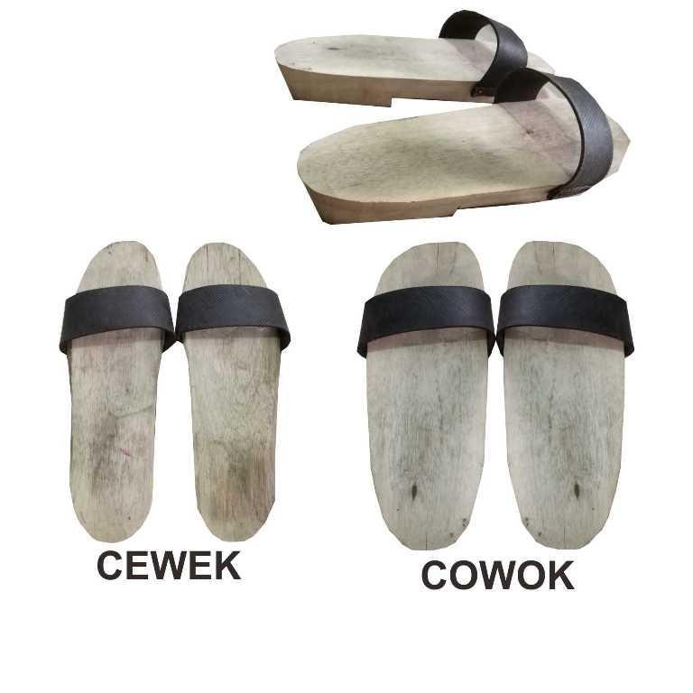 Sandal Bakiak Kayu PROMO