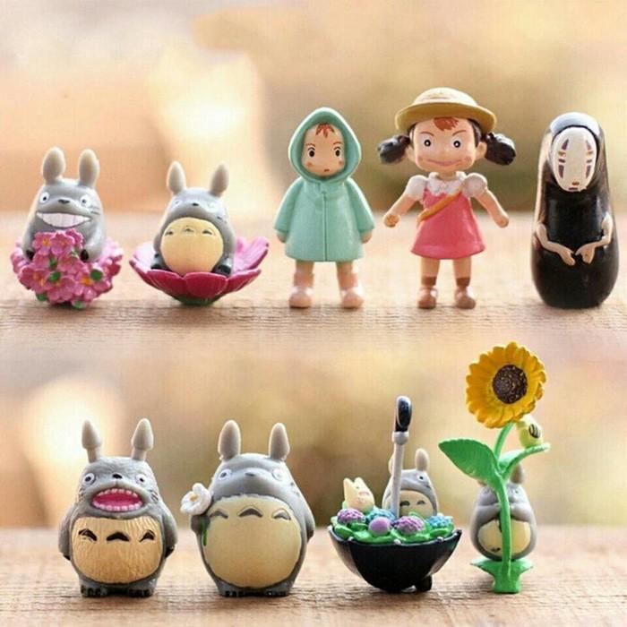 Miniatur Totoro Spirited Away Studio Ghibli