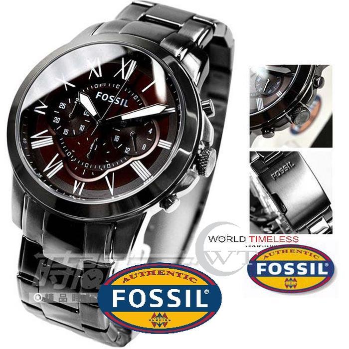 Jam Tangan Pria Merk Fossil Original Type : FS 5090 Baterai
