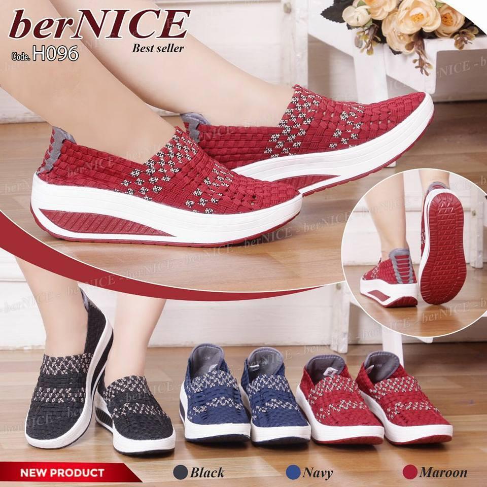 Kiddo flat + BOX sepatu rajut cynthia bernice lulia oggo - sepatu Bernice  Wanita-B b815bb7549