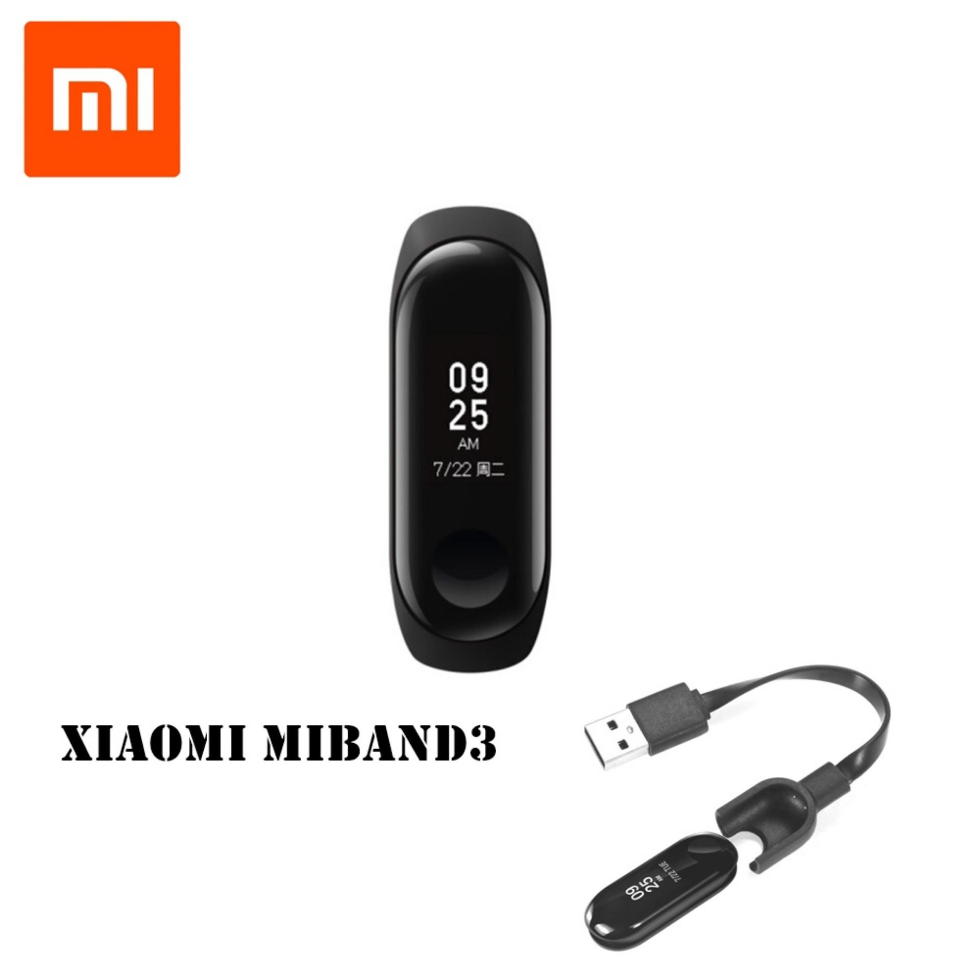 Buy Sell Cheapest Xiaomi 3 Oled Best Quality Product Deals Mi Band Display Free Screen Guard Smart Original Alt Miband 2