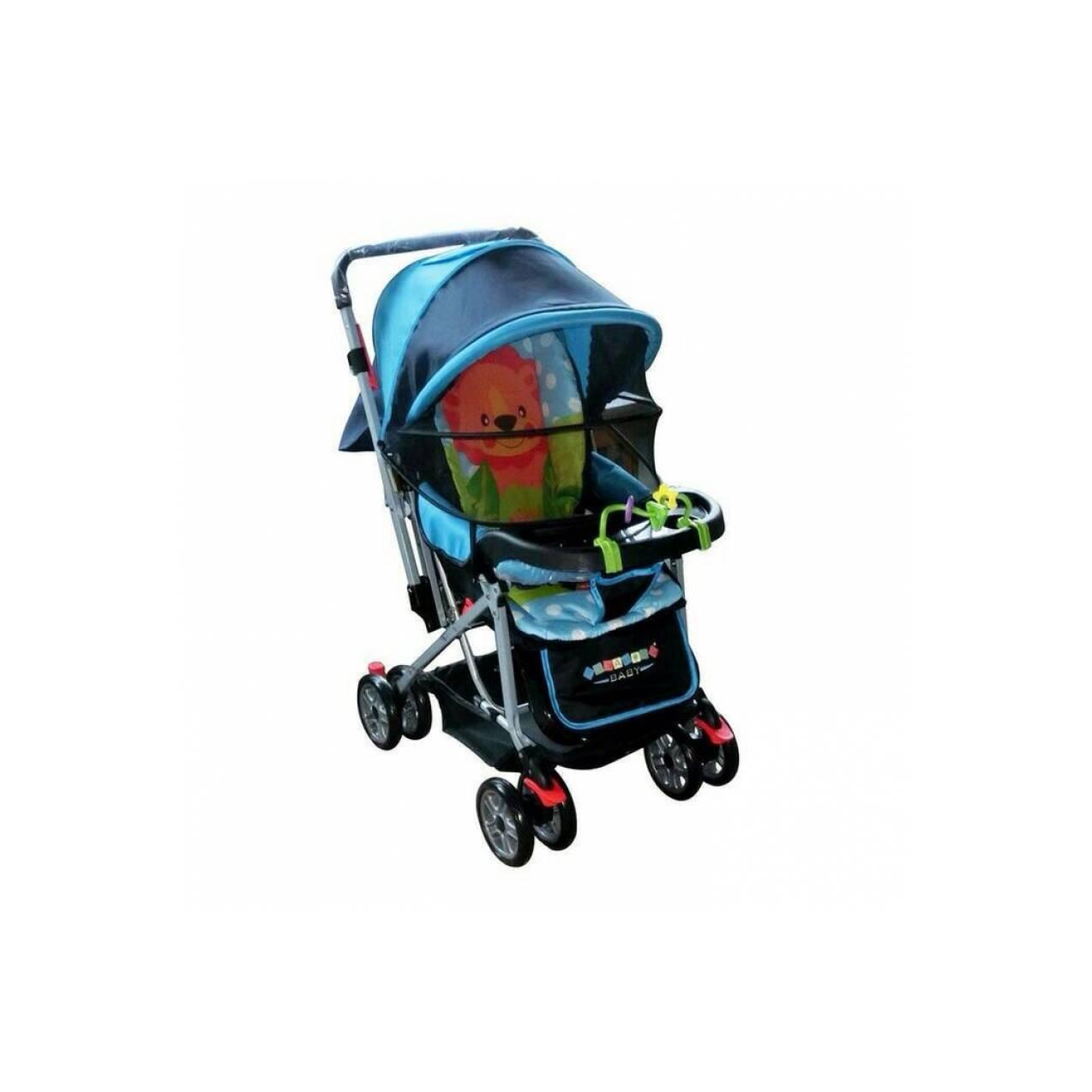 kereta dorong stroller anak bayi pliko creative baby