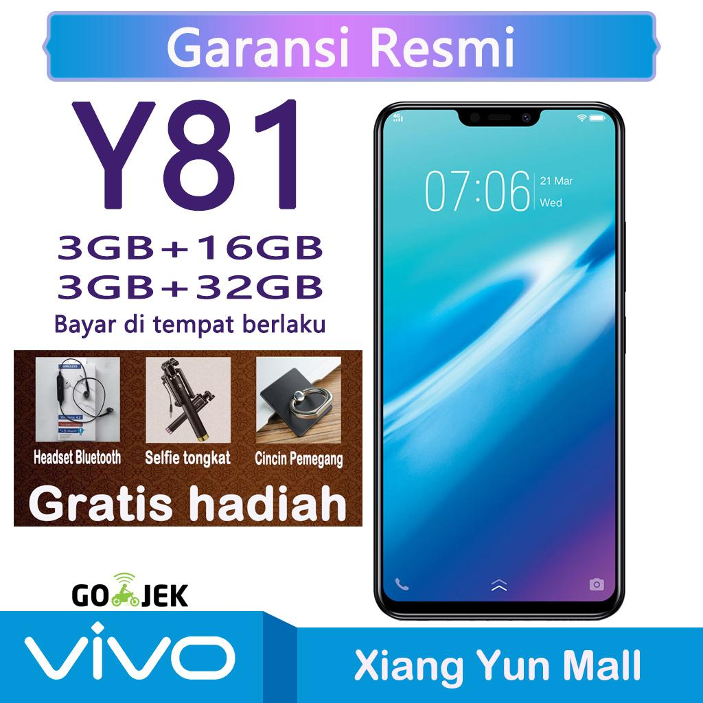 Vivo Y81 3G/16G32G - AI Face Beauty Face Access Ocea-core Processor Garansi resmi