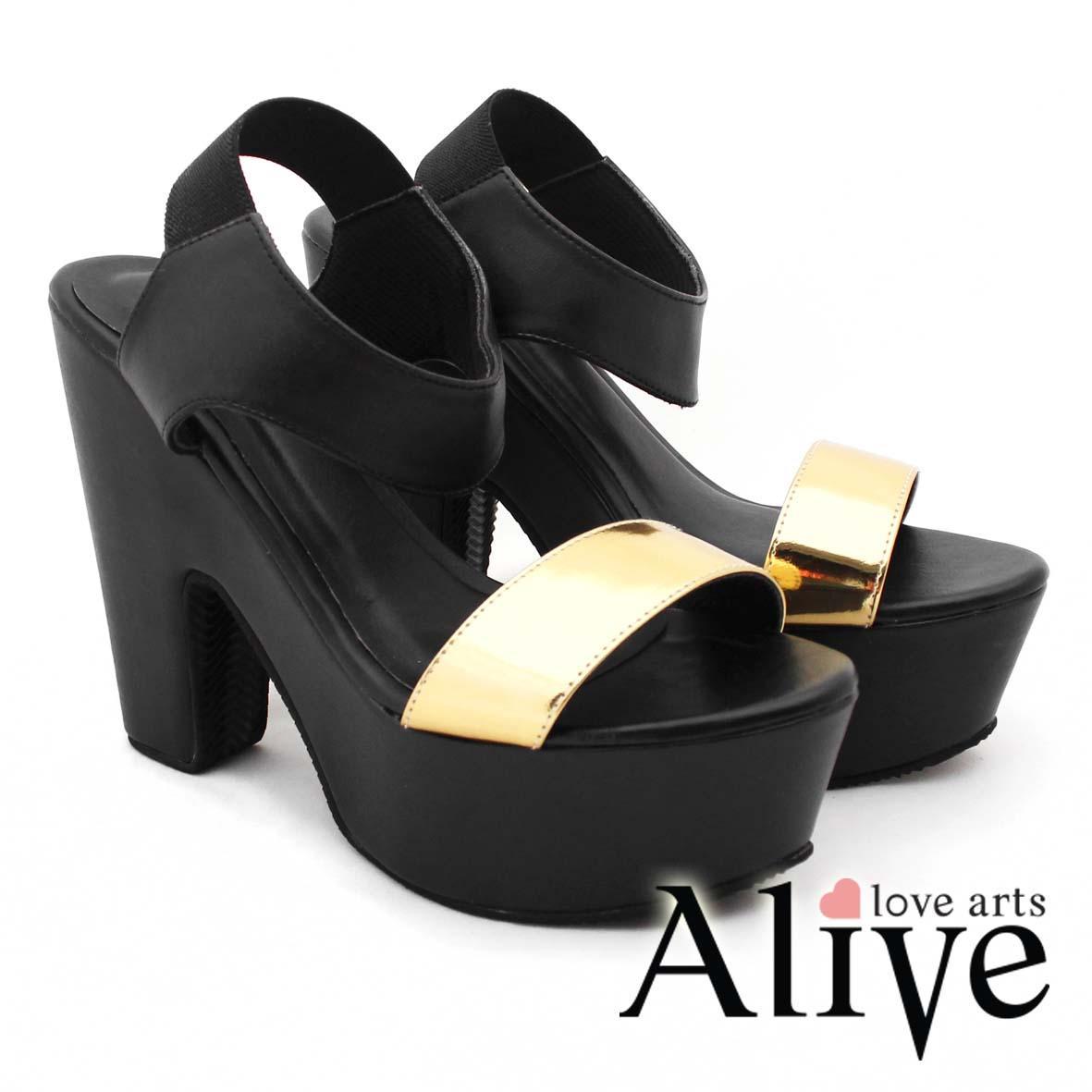 AliveLoveArts Morrigan Black Sepatu Heels Wanita