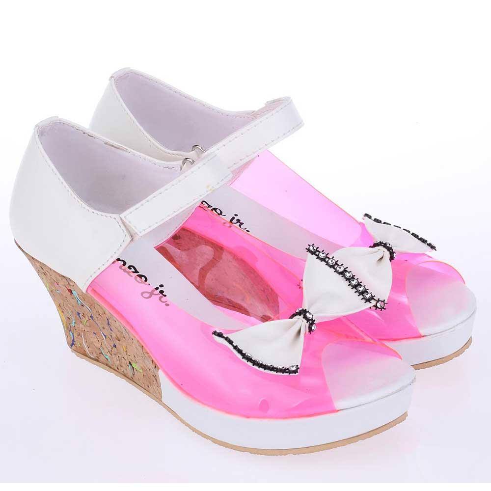 Ukuran 31-35 Sepatu Sandal Sendal Wedges Anak Perempuan Cewek Pink Komb CMP 604 CR