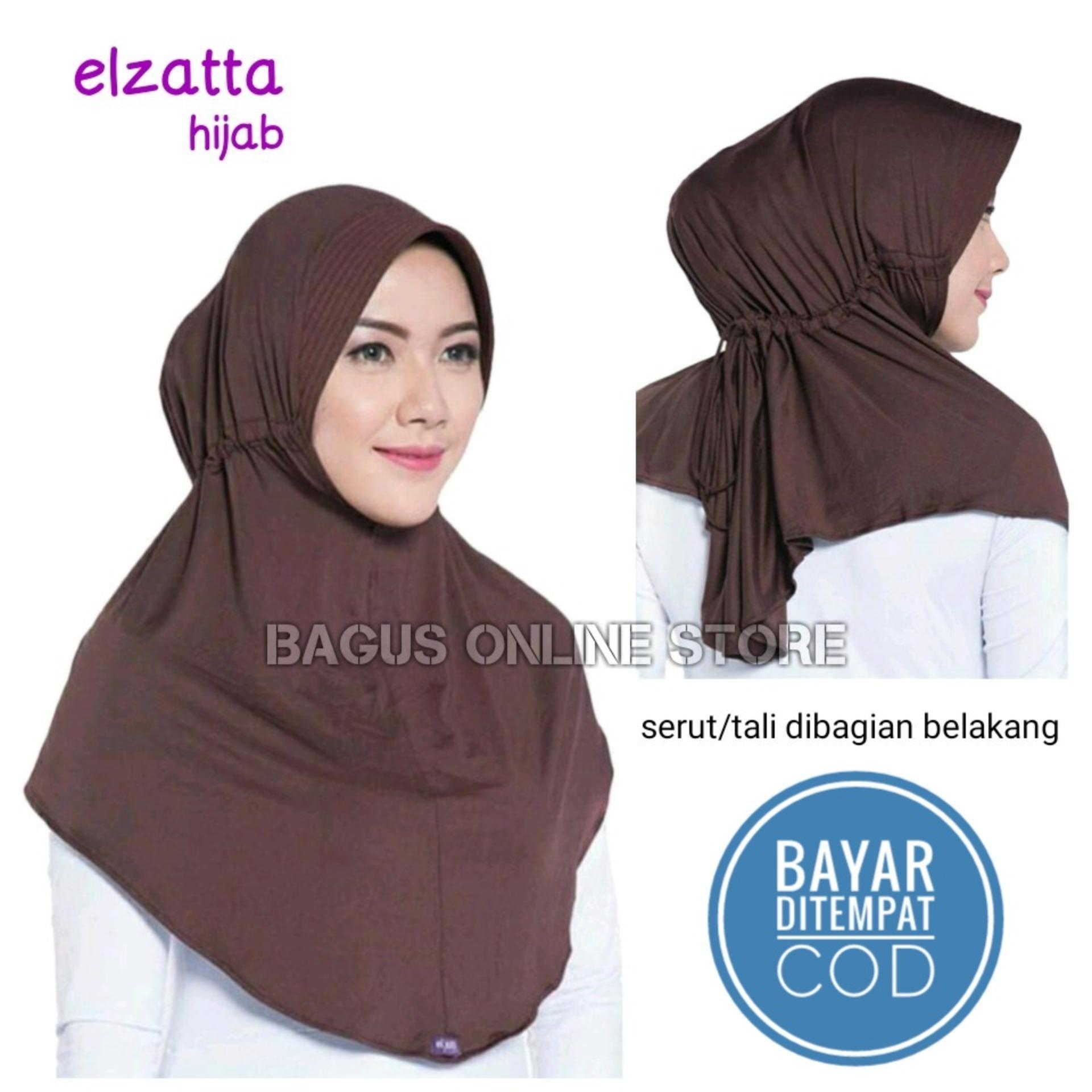Elzatta Hijab / Jilbab Hijab Instan Bergo Kerudung Elzatta