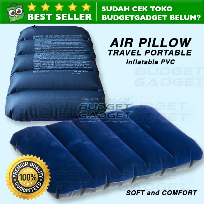 Bantal Angin / Inflatable PVC Neck Pillow High Rest
