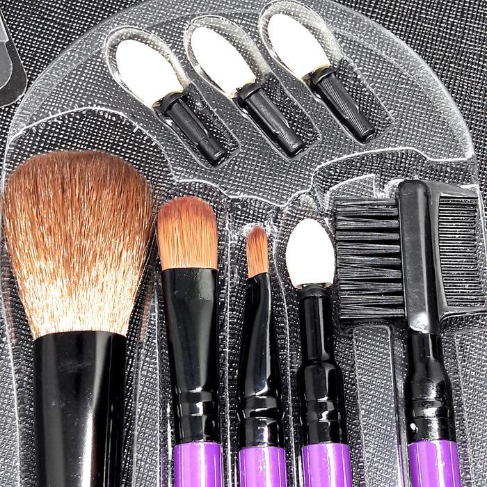 BS031 Make Up Brush Set Alat Make Up 8 Pcs Luxury Eyeshadow Eyebrow