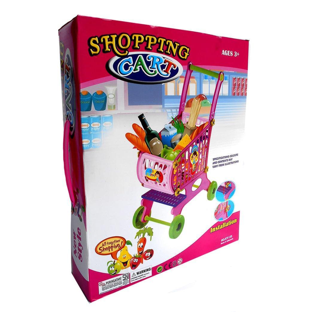 Shopping Cart Trolley - Kado Mainan Anak Keranjang Belanja Troly / Mainan anak termurah / mainan anak terbaru / mainan koleksi / mainan edukasi / mainan anak berkualitas