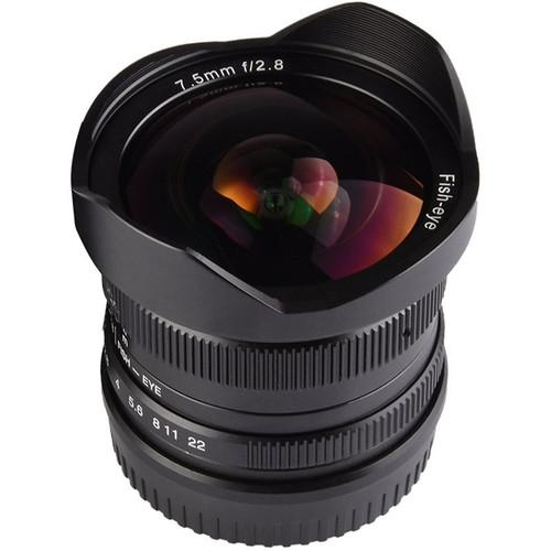 7artisans 7.5mm f/2.8 Fisheye Lens For Olympus M4/3 Camera