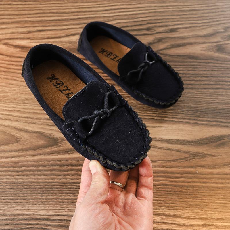 Musim Semi Gaya Korea Anak Laki-Laki Sepatu 1-3-6 Tahun Sepatu Anak Perempuan 2 Anak-Anak Sepatu Kacang Polong 4 Pijakan Empuk 5 Anak Casual Sepatu Lapisan Tunggal By Koleksi Taobao.