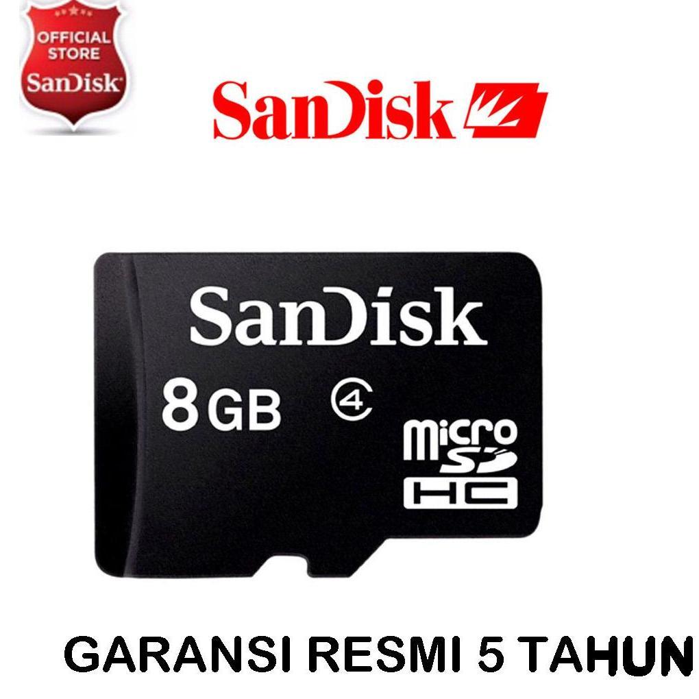 Kartu Memori Sandisk Terbaru Ultra Micro Sd 32gb Class 10 No Adapter Garansi Resmi Original Memory Card 8 Gb Class4 Sdsdqm 008g
