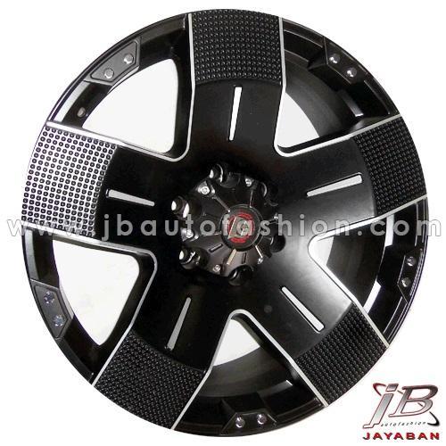 Velg mobil racing ring 20 inch Balistic Hyjak PCD 6x139.7 Fortuner, Pajero, Everest, Blazer, Dmax, Triton