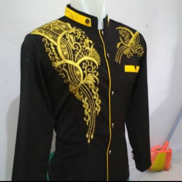 Jasko hitam List Kuning Emas (L)