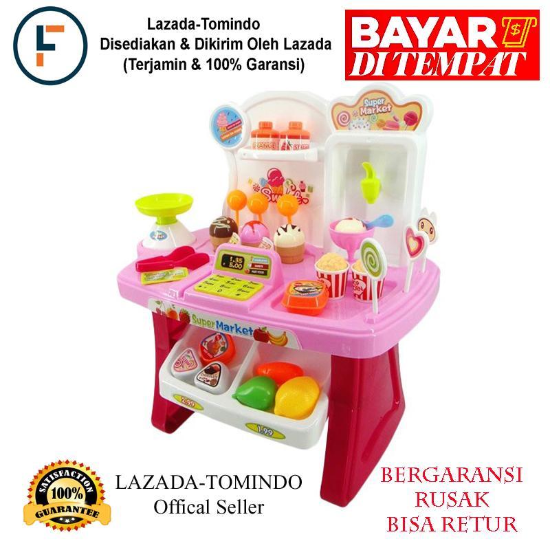 Tomindo Mini Market Playset Pink 668-24   mainan anak   mainan supermarket    mainan 3139d2181a