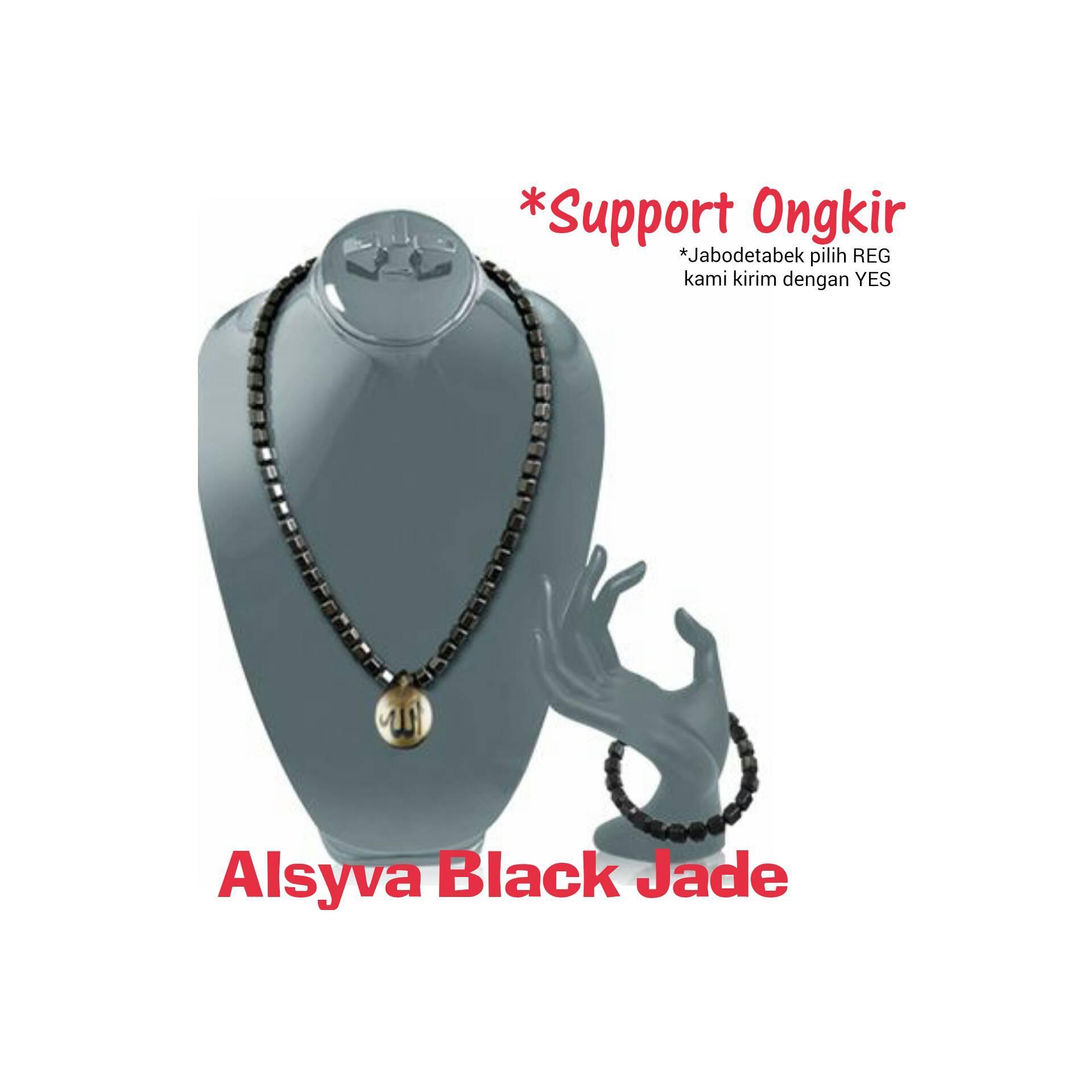 Alsyva Black Jade ( Kalung dan Gelang Alsyva)