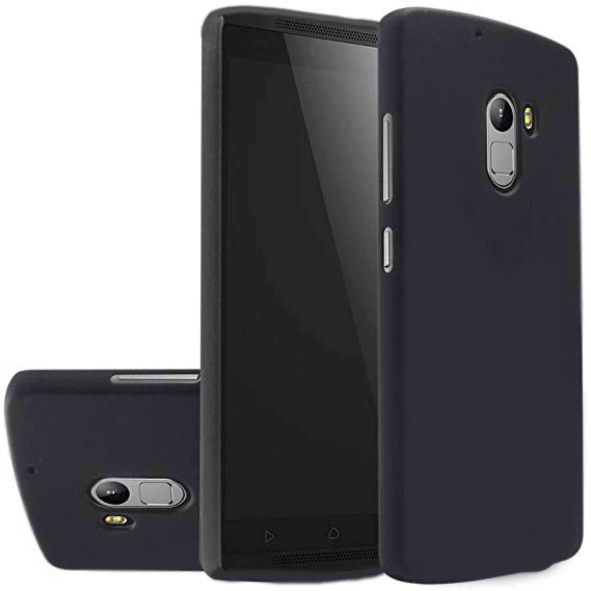 DarkNight for Lenovo K4 Note / A7010   Slim Case Black Matte Softcase Premium (Anti Minyak/Anti Sidik Jari) - Hitam Doff