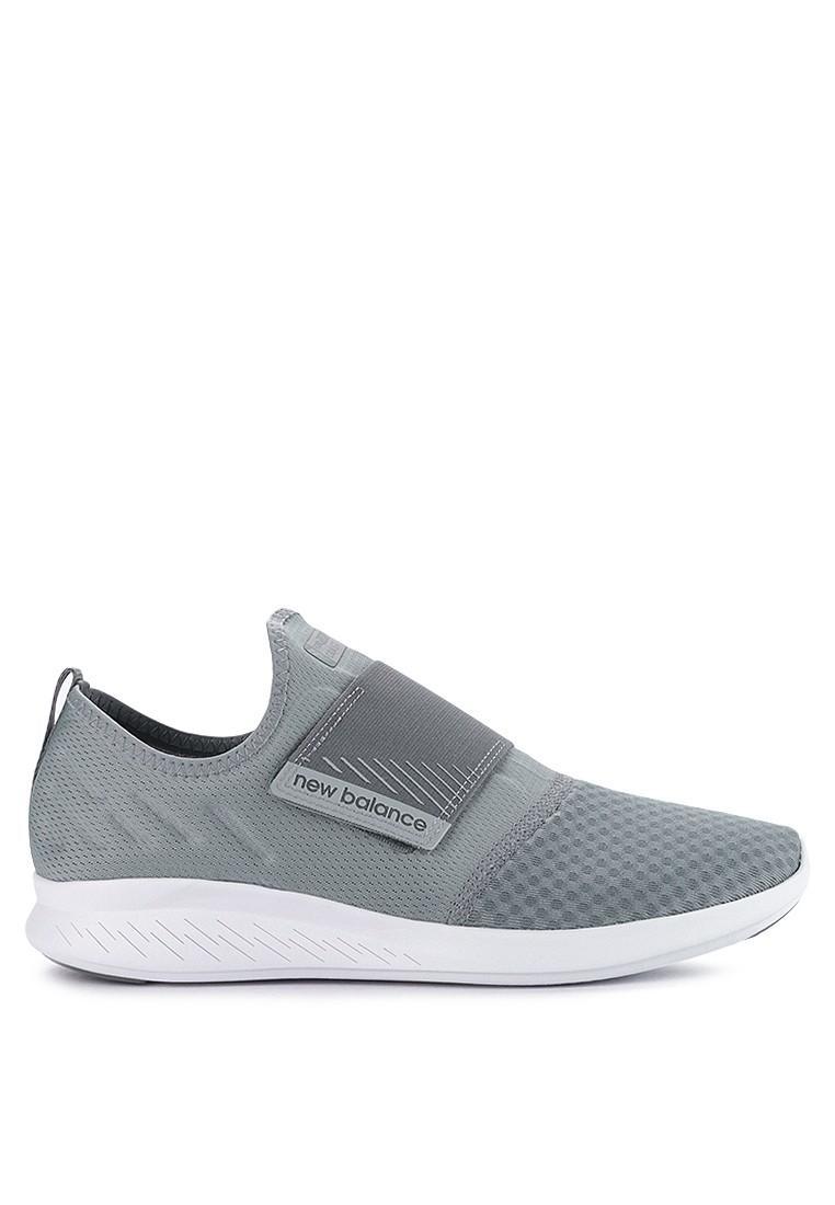 New Balance Coast V4 Velcro - Sepatu Wanita - Abu-abu b8c6838099