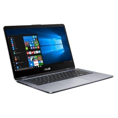 Laptop Asus Vivobook Flip TP410UA Core i3-7100U Intel HD Graphics RAM 4GB DDR4 1TB HDD 14 Inci Windows 10 Original Touch Screen