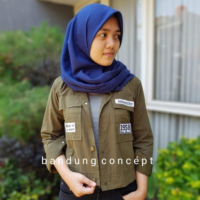 PARKA NOTE - JAKET PARKA WANITA - KOREAN AND CASUAL