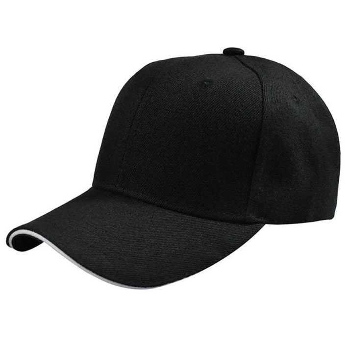 Topi Keren Baseball Caps Polos Distro Pria - Multiwarna