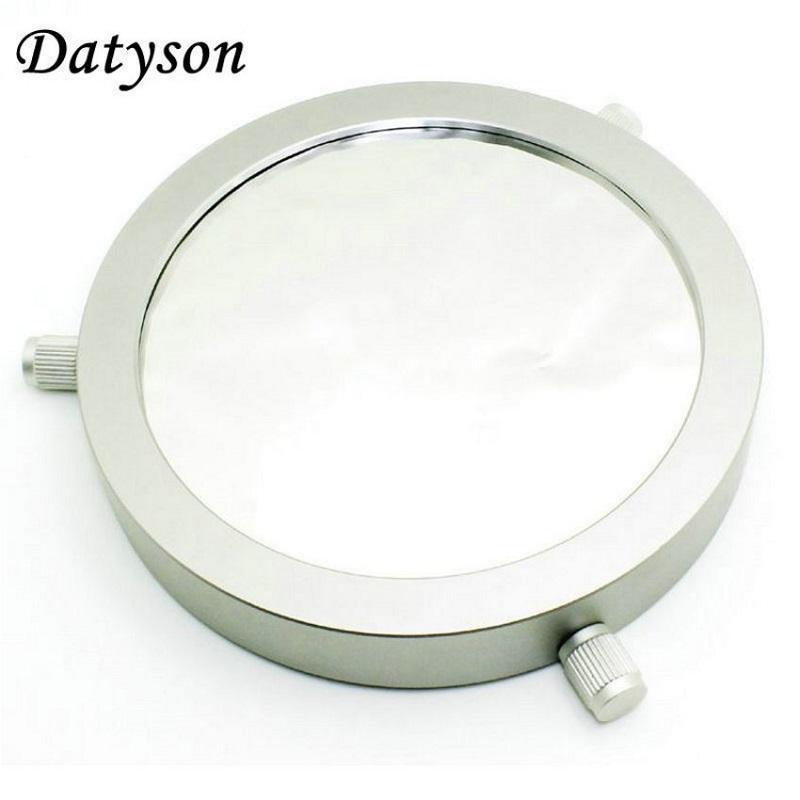 Datyson Astro Teleskop Filter Tenaga Surya 5.0 Membran Opsional Lensa Objektif Akhir Bard Film Penutup Logam untuk 70-150 Mm Aperture- internasional