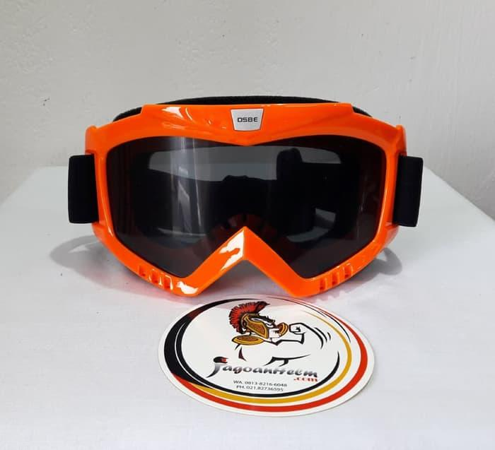 Kacamata Goggle Osbe | Smoke Orange | Google Cross Trail - ready stock