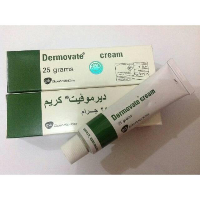 Dermovate Hijau Cream 25gr ASLI Original Arab Saudi - Dermovate Cream Hijau Original - Gel Pemutih Kulit dan Penghilang Bekas Luka