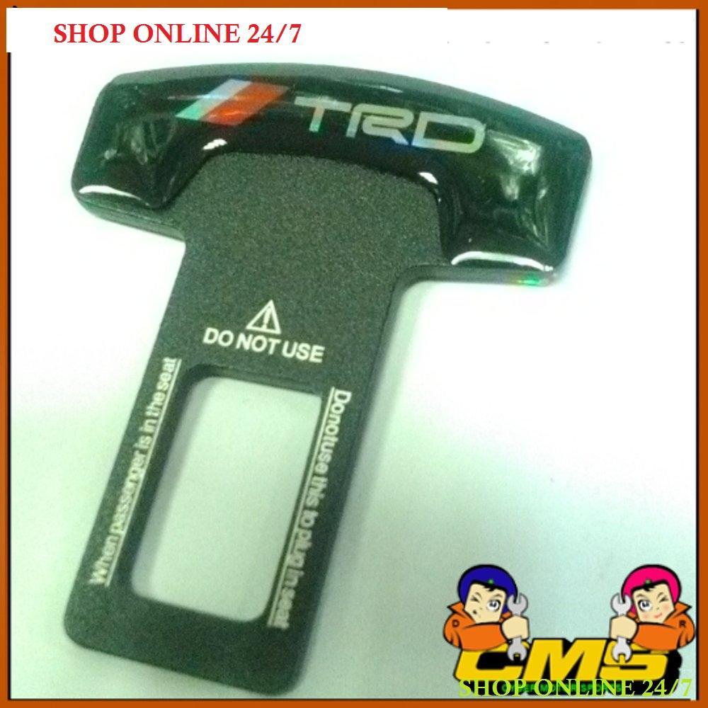 Belt Buzzer Stopper - stopper Alarm seatbelt motif TRD - Colokan sabuk pengaman.