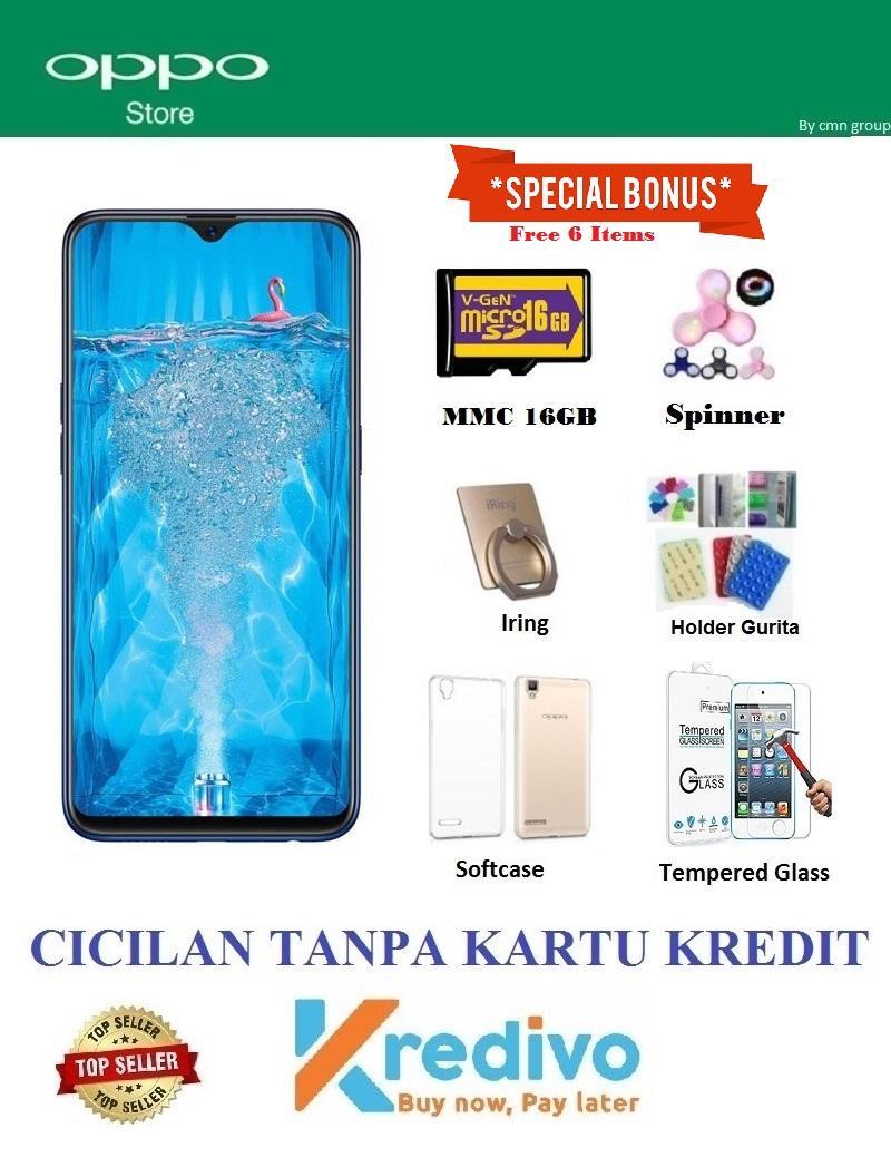 Oppo F9 Ram 4GB 64GB - Bisa Cicilan Tanpa Kartu Kredit + Extra Bonus 6 b5afaefeb9