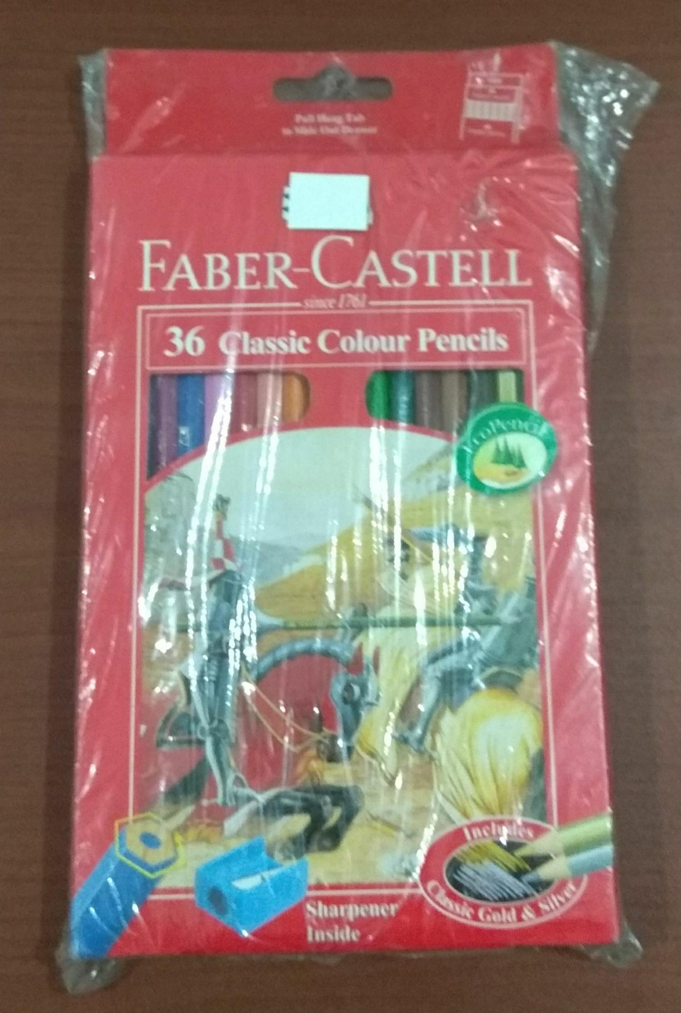 Pensil warna Faber Castell isi 36 Classic
