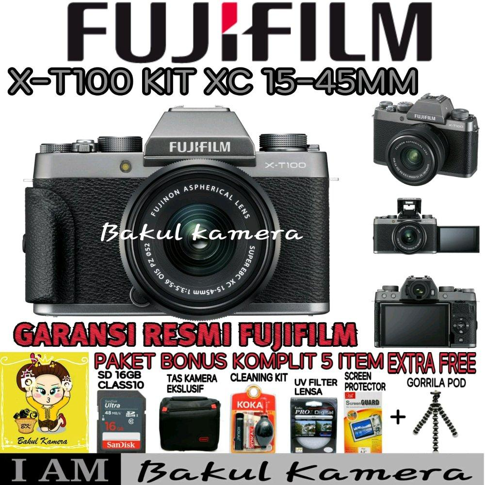 Buy Sell Cheapest Kit Pendaftaran Resmi Best Quality Product Deals Fujifilm Xa20 X A20 Xc15 45mm Garansi Indonesia T100 15