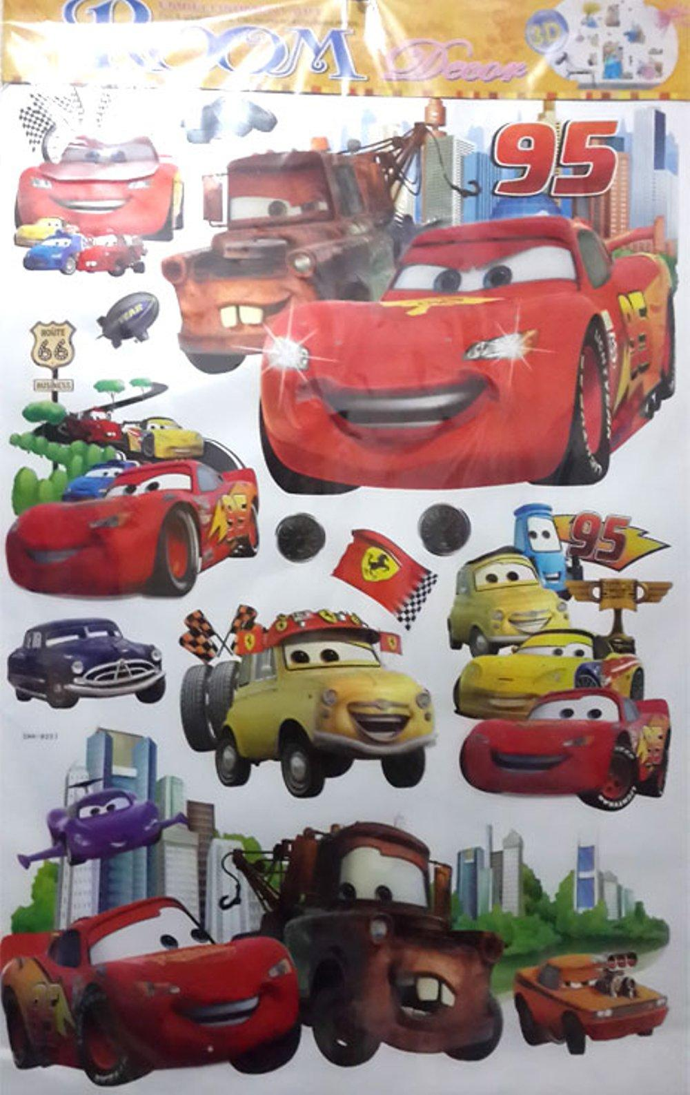 Buy Sell Cheapest Cars 3d Best Quality Product Deals Indonesian Tas Ransel Anak Mc Queen Wall Stiker Dinding Eti Shop
