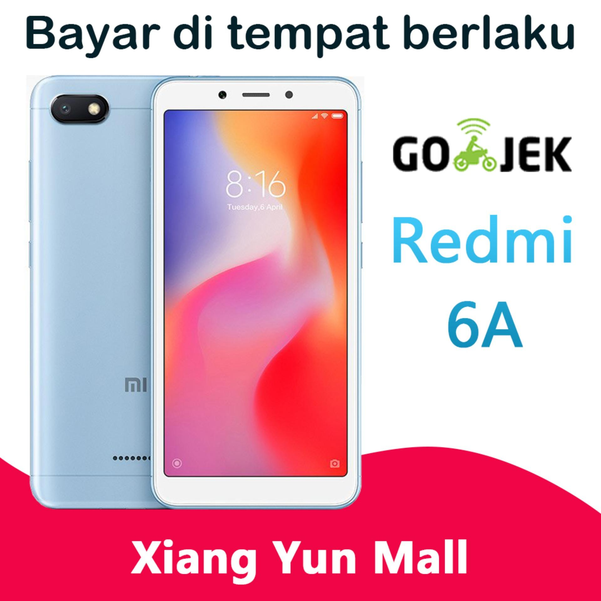 Xiaomi Redmi 6A - 2GB/16GB Edisi Global Smartphone Face Unlock(Kotak jeruk)