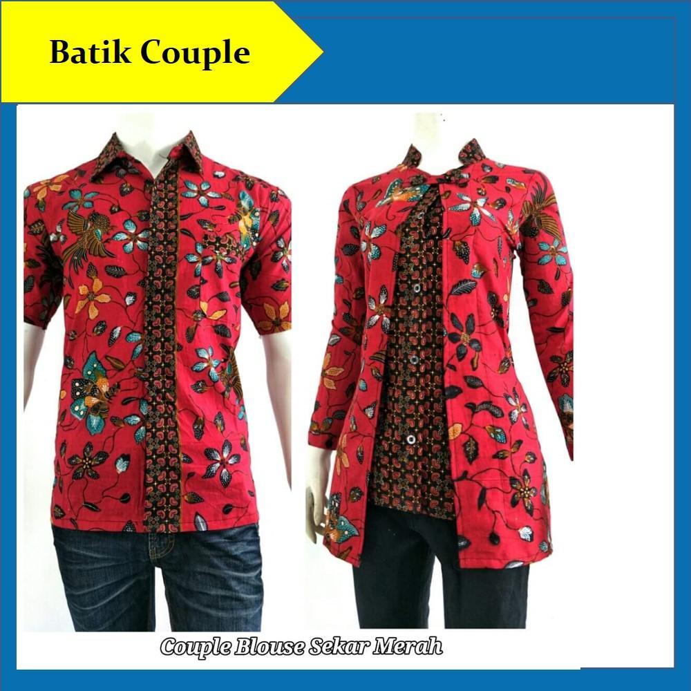 Harga Batik Modern Atasan Couple Terbaru Batik Indonesia