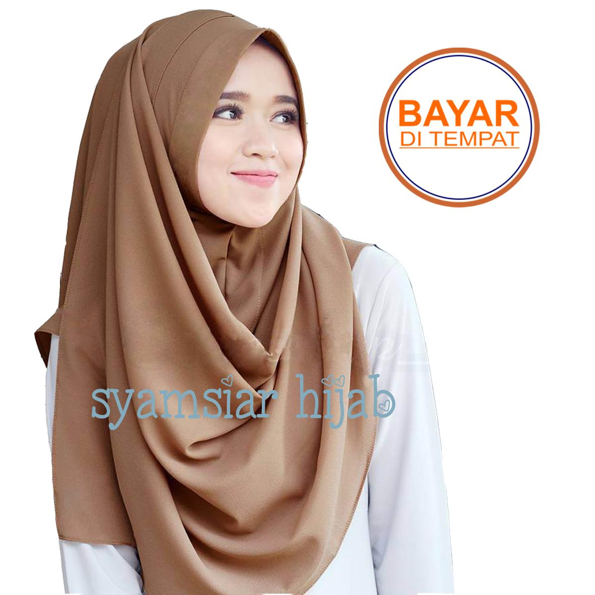 PROMO  Jilbab   Hijab Pashmina Instan ZAFINA - Kerudung Pasmina Instant a48cb5a4b3