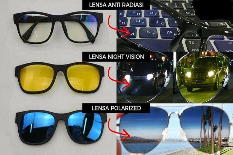 Kaca Mata ASK VISION Magnet Magic HD Vision Magnet Terlaris  / Kacamata Magnet clip On 3 In 1 Magic Vision / Promo Kacamata 3 IN 1 Beli 2 Gratis 1 Dengan 3 Fungsi