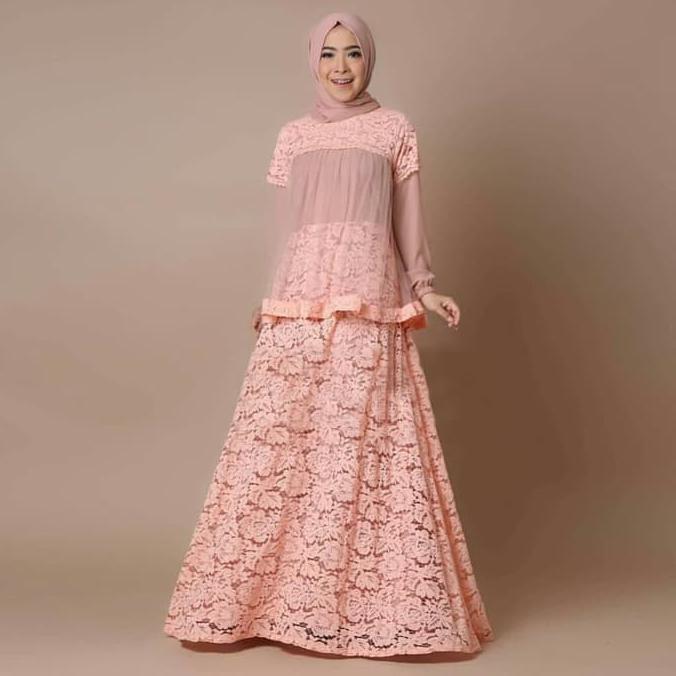 dandelia / MAXY HUSNINA (ed) / kaftan muslim / muslim wanita / atasan muslim / dress muslim / fashion muslim / gamis / syari / maxi muslim / amber dewasa / labiba dewasa / wardani mom