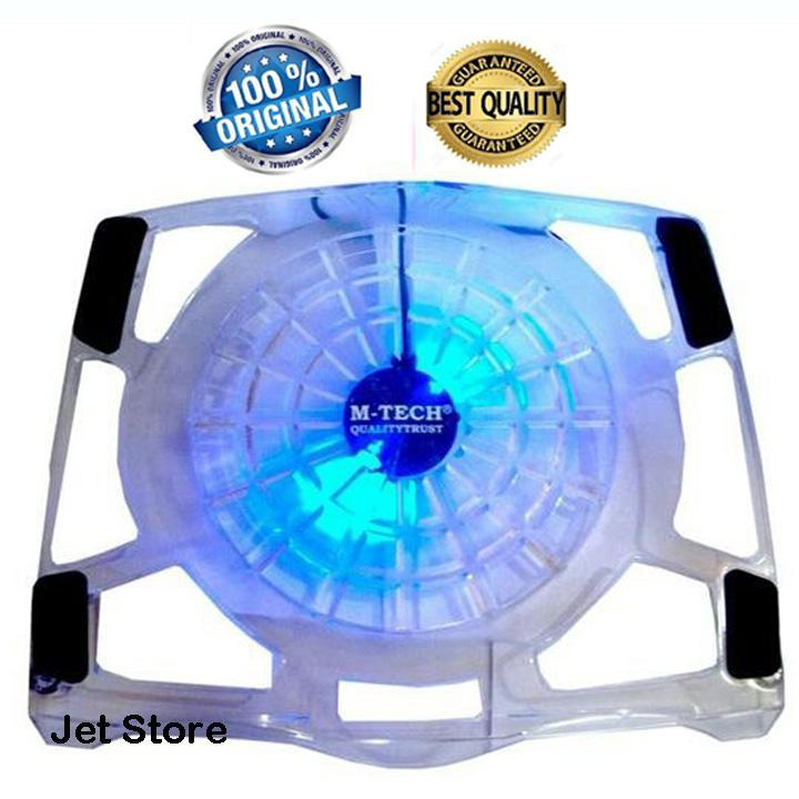 Mtech Laptop Notebook Cooler Cooling Pad Big Fan.