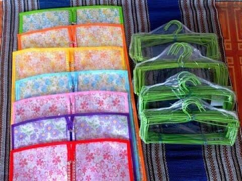 Sale - hjo hanger jilbab organizer hanging kerudung hijab gantungan rak Import