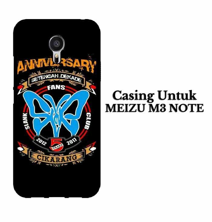 Casing MEIZU M3 NOTE SLANK CIKARANG Hardcase Custom Case Se7enstores