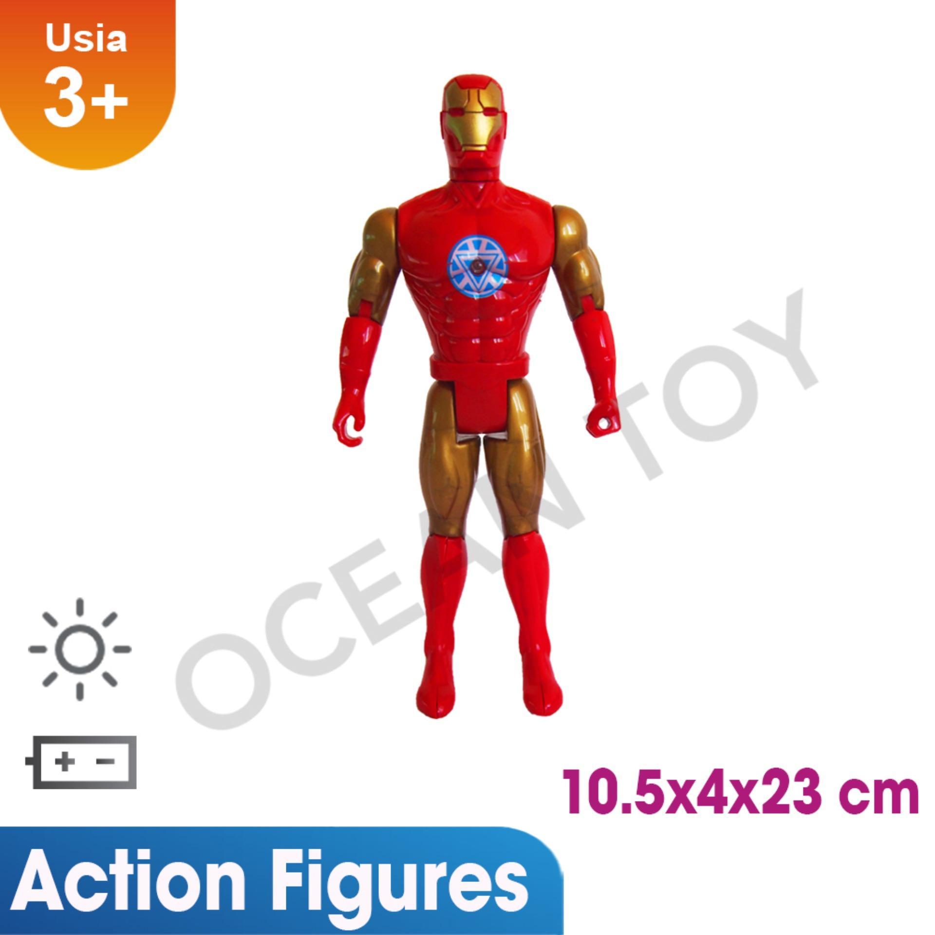 Mainan Action Figure Keren Avengers Bisa Menyala Lazada Birthday Special Promo Murah