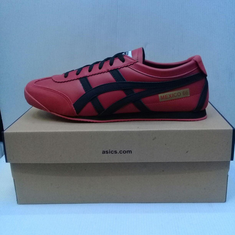 fashion sepatu asics onitsuka tiger red (COD)