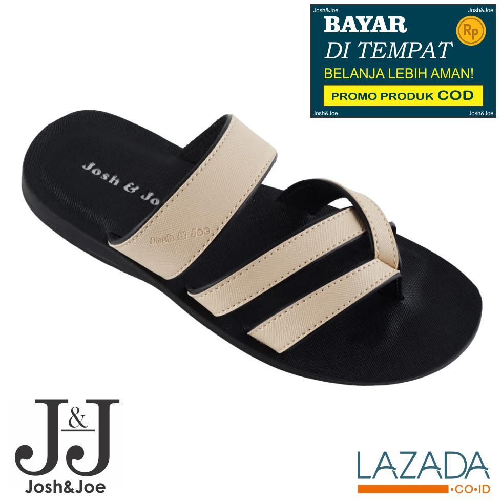 Jual Sandal Pria Terbaik Kulit Jepit Birkenstock Bandung Joshjoe Fashion Sendal Gunung