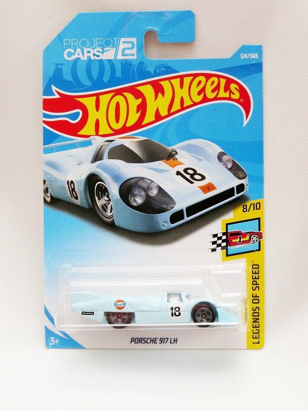 Hot Wheels Porsche 917 LH - Gulf - biru