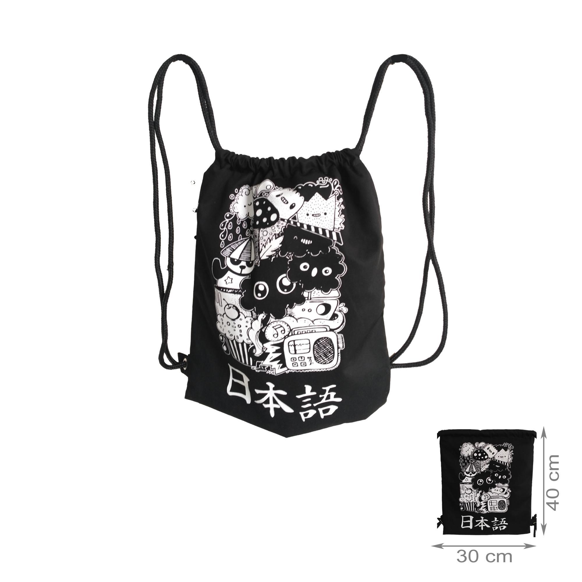 tas ransel stringbag / string bag / tas serut - japan