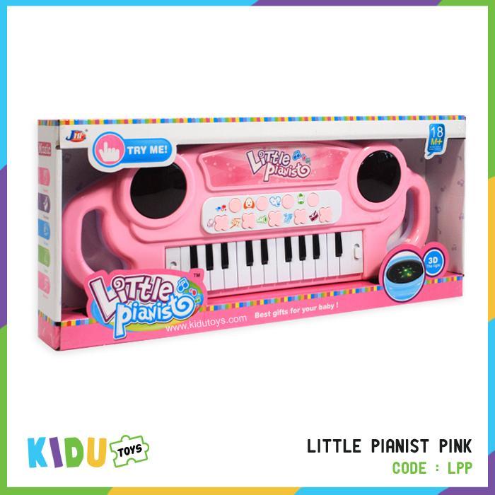 Mainan Piano Untuk Si Kecil Little Pianist Pink Kidu Toys